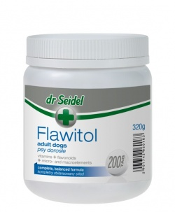 Flawitol Adult Dog, 200 tabletek