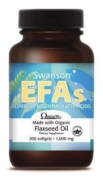 Flax Oil 1000mg, 200 kapsułek