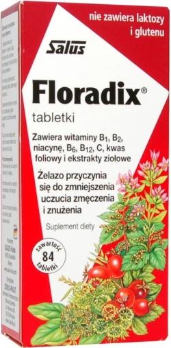 Floradix - 84 tabletki