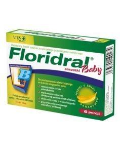 Floridral Baby, proszek do sporządzania zawiesiny, 6 porcji