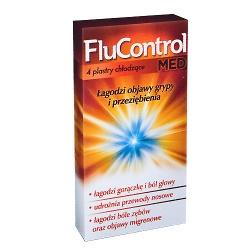 Flucontrol MED, plastry, 4 sztuki