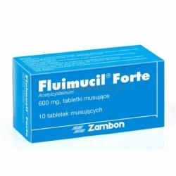 Fluimucil Forte, 600 mg, 10 tabletek musujących