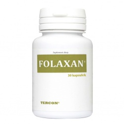 Folaxan, 30 kapsułek ZDROVIS
