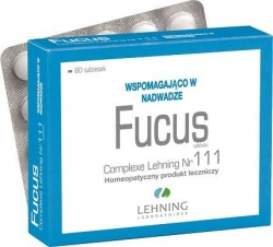 Fucus Complexe Nr 111, 80 tabletek