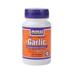 NOW - Garlic Odor Controlled - 100 softgels