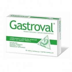 Gastroval, kapsułki -  15
