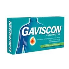 Gaviscon o smaku mięty