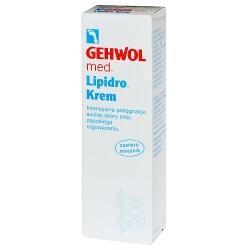 Gehwol Lipidro, krem, silnie nawilżający do stóp, 75 ml
