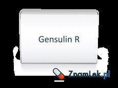 Gensulin R