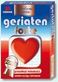 Geriaten Forte, 30 tabletek