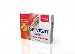 Gervitan Vitalis - 30 tabletek