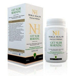 NOBLE HEALTH, GET SLIM MORNING, 60 TABLETEK