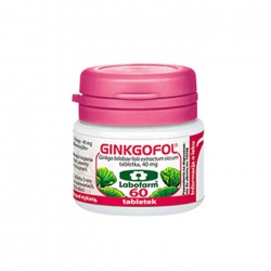 Ginkgofol, 40 mg, tabletki, 30 szt