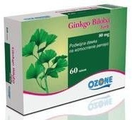 OZONE LABORATORIES POLSKA  Ginkgo Biloba 40 mg