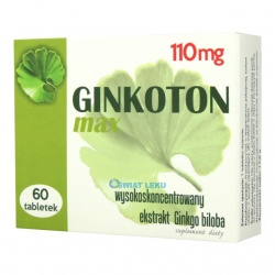 Ginkoton Max - 60 tabl
