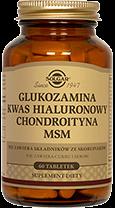 Glukozamina kwas hialuronowy chondroityna MSM