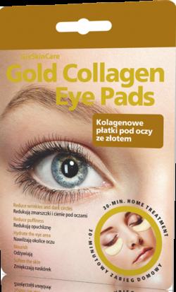 GlySkinCare Gold Collagen Eye Pads, 1 komplet