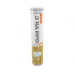 Olimp Gold-Vit C1000, tabletki musujące, smak cytrynowy, 20 szt