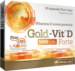 OLIMP - Gold-Vit™ D Forte - 30 Flow Caps