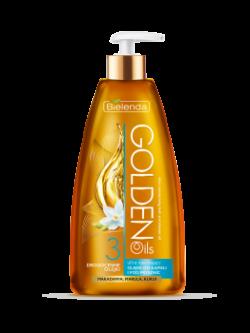 GOLDEN OILS Ultra nawilżający olejek do kąpieli, olejek