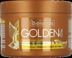 GOLDEN OILS Ultra nawilżające BRĄZUJĄCE masło do ciała