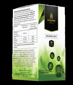 Green Barley Slim, Goblado Farm, 60 kapsułek