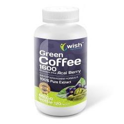 WISH - Green Coffee 1600 plus Acai Berry - 120caps
