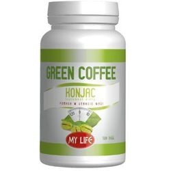 Green coffee Konjac, 100 tabletek