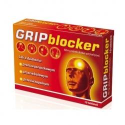GRIPBLOCKER, tabletki, 10 sztuk