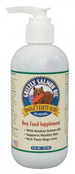 Grizzly Olej z Dzikiego Łososia, 1000 ml