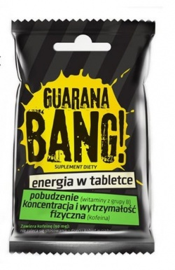 WALMARK  Guarana Bang, 30 saszetek x 2 tabletki