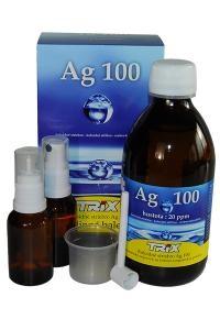 Gwarantovane Srebro Koloidalne Ag 100, 300 ml