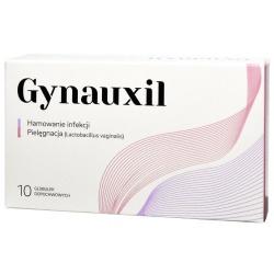 Gynauxil, globulki dopochwowe, 10szt