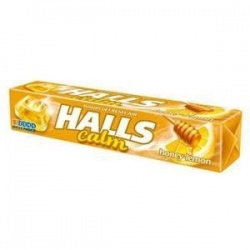 Halls Calm honey lemon, cukierki, 33,5 g