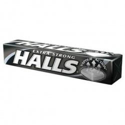 Halls Extra Strong, cukierki, 33,5 g