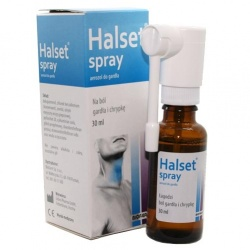 Halset, aerozol, do gardła, 30 ml