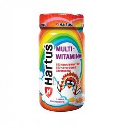 Hartuś Multiwitamina, 60 pektynowych żelków o smaku winogronowym