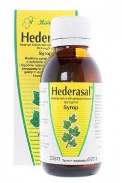 Hederasal, syrop, (26,6 mg 5 ml), 125 g