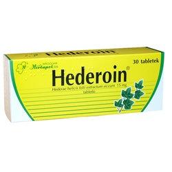 Hederoin, 15 mg, tabletki, 30 szt