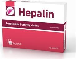 Hepalin 40 tabletek