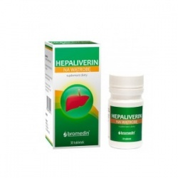 Hepaliverin - 30 tabletek