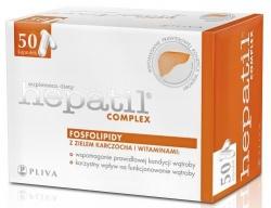 HEPATIL COMPLEX, 50 KAPSUŁEK
