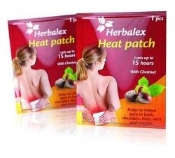 Herbalex Heat Patch plastry rozgrzewające z kasztanowcem
