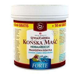 Herbamedicus, maść końska, Forte, chłodząca, szwajcarska, 500 ml + 50 ml