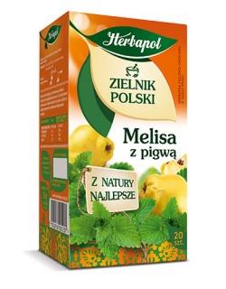 Herbata melisa z pigwą, fix, 20 szt