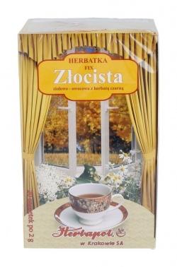 Herbata złocista, fix, 2 g, 20 szt