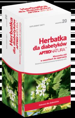 APTEO NATURA, Herbatka dla diabetyków