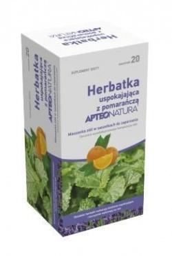 Herbatka uspokajająca z pomarańczą