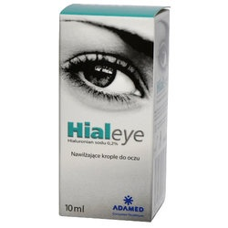 Hialeye, 0,2%, krople do oczu, (NTC), 10 ml