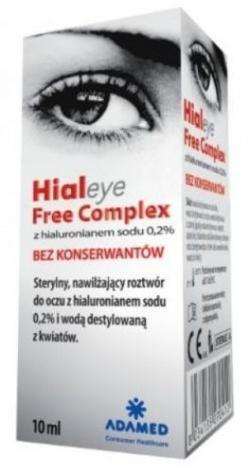 Hialeye Free Complex 0,2%,krople do oczu, 10 ml